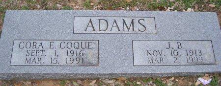 ADAMS, JAMES BROADWELL - Cooke County, Texas | JAMES BROADWELL ADAMS - Texas Gravestone Photos