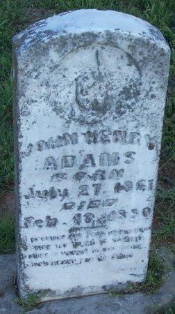 ADAMS, JOHN HENRY - Cooke County, Texas | JOHN HENRY ADAMS - Texas Gravestone Photos