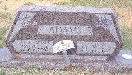ADAMS, FRANK A. - Cooke County, Texas | FRANK A. ADAMS - Texas Gravestone Photos