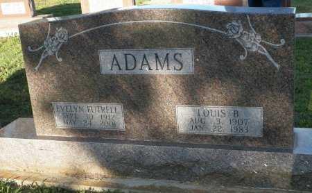 ADAMS, LOUIS B. - Cooke County, Texas   LOUIS B. ADAMS - Texas Gravestone Photos