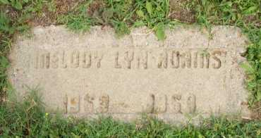 ADAMS, MELODY LYN - Cooke County, Texas | MELODY LYN ADAMS - Texas Gravestone Photos