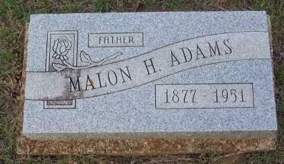 ADAMS, MALON HENRY - Cooke County, Texas | MALON HENRY ADAMS - Texas Gravestone Photos
