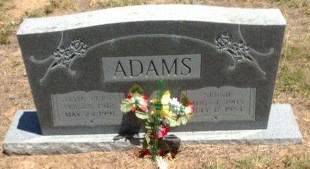 ADAMS, SYLVIA CLYDE - Cooke County, Texas | SYLVIA CLYDE ADAMS - Texas Gravestone Photos