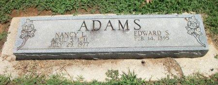 ADAMS, EDWARD SAMUEL - Cooke County, Texas | EDWARD SAMUEL ADAMS - Texas Gravestone Photos