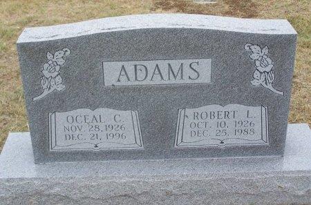 ADAMS, OCEAL CECILE - Cooke County, Texas | OCEAL CECILE ADAMS - Texas Gravestone Photos
