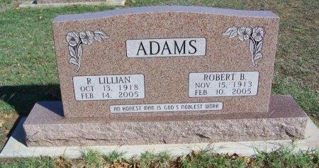 ADAMS, ROBERT B. - Cooke County, Texas | ROBERT B. ADAMS - Texas Gravestone Photos