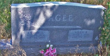 COKER AGEE, FANNIE EMILY - Cooke County, Texas | FANNIE EMILY COKER AGEE - Texas Gravestone Photos