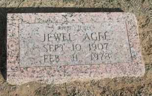 AGEE, RUBY JEWEL - Cooke County, Texas | RUBY JEWEL AGEE - Texas Gravestone Photos