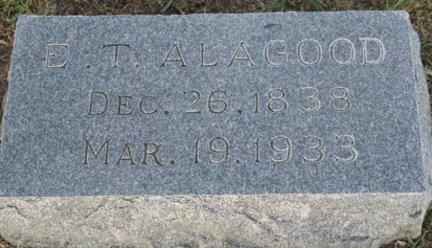 ALAGOOD, EBENEZER TRUELOVE - Cooke County, Texas | EBENEZER TRUELOVE ALAGOOD - Texas Gravestone Photos