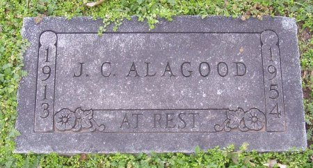 "ALAGOOD, JAMES CARROLL ""J.C."" - Cooke County, Texas 