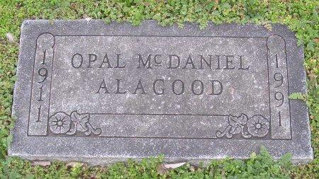 MCDANIEL ALAGOOD, JESSIE OPAL - Cooke County, Texas | JESSIE OPAL MCDANIEL ALAGOOD - Texas Gravestone Photos