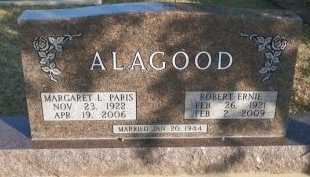 ALAGOOD, ROBERT ERNIE - Cooke County, Texas | ROBERT ERNIE ALAGOOD - Texas Gravestone Photos