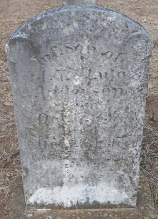 ANDERSON, INFANT SON - Cooke County, Texas   INFANT SON ANDERSON - Texas Gravestone Photos