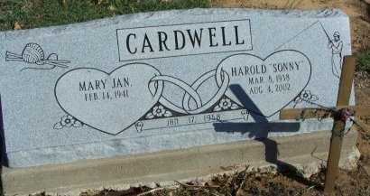 CARDWELL, HAROLD HENRY - Cooke County, Texas | HAROLD HENRY CARDWELL - Texas Gravestone Photos