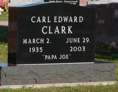 CLARK, CARL EDWARD - Cooke County, Texas | CARL EDWARD CLARK - Texas Gravestone Photos