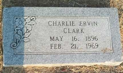 CLARK, CHARLIE ERVIN - Cooke County, Texas   CHARLIE ERVIN CLARK - Texas Gravestone Photos