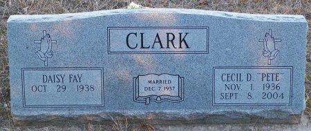 "CLARK, CECIL D. ""PETE"" - Cooke County, Texas   CECIL D. ""PETE"" CLARK - Texas Gravestone Photos"