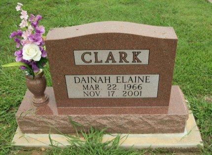CLARK, DAINAH ELAINE - Cooke County, Texas   DAINAH ELAINE CLARK - Texas Gravestone Photos