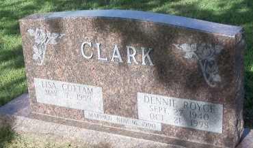 CLARK, DENNIE ROYCE - Cooke County, Texas | DENNIE ROYCE CLARK - Texas Gravestone Photos