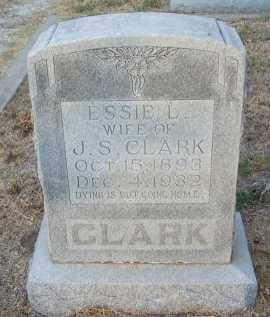CLARK, ESSIE L. - Cooke County, Texas   ESSIE L. CLARK - Texas Gravestone Photos