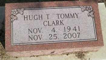 "CLARK, HUGH THOMAS ""TOMMY"" - Cooke County, Texas | HUGH THOMAS ""TOMMY"" CLARK - Texas Gravestone Photos"
