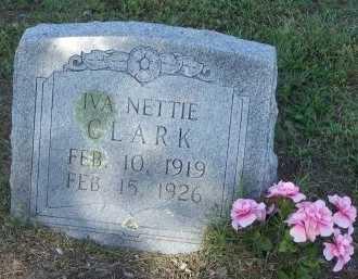 CLARK, IVA NETTIE - Cooke County, Texas | IVA NETTIE CLARK - Texas Gravestone Photos