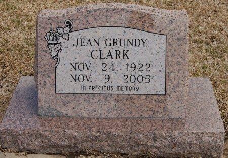 CLARK, JEAN - Cooke County, Texas   JEAN CLARK - Texas Gravestone Photos