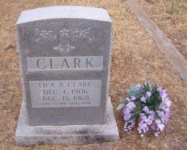 CLARK, LILA BELLE - Cooke County, Texas   LILA BELLE CLARK - Texas Gravestone Photos