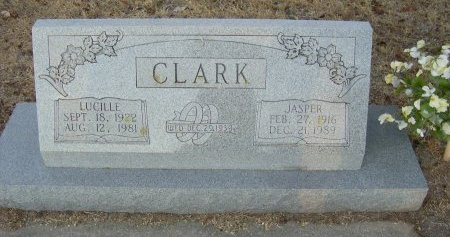 CLARK, RUBY LUCILLE - Cooke County, Texas | RUBY LUCILLE CLARK - Texas Gravestone Photos