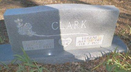 CLARK, EUGENE - Cooke County, Texas   EUGENE CLARK - Texas Gravestone Photos