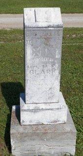 CLARK, MARY E. - Cooke County, Texas   MARY E. CLARK - Texas Gravestone Photos