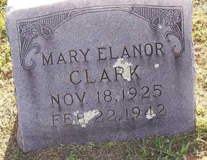 CLARK, MARY ELANOR - Cooke County, Texas   MARY ELANOR CLARK - Texas Gravestone Photos