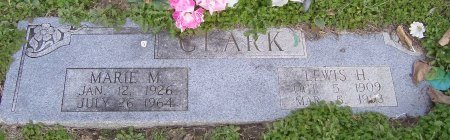CLARK, MARIE M. - Cooke County, Texas | MARIE M. CLARK - Texas Gravestone Photos
