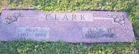 CLARK, RUBY - Cooke County, Texas | RUBY CLARK - Texas Gravestone Photos