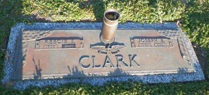 CLARK, REECIE S. - Cooke County, Texas | REECIE S. CLARK - Texas Gravestone Photos