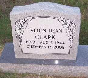 CLARK, TALTON DEAN - Cooke County, Texas   TALTON DEAN CLARK - Texas Gravestone Photos