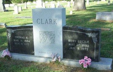 CLARK, THOMAS HICKLIN - Cooke County, Texas | THOMAS HICKLIN CLARK - Texas Gravestone Photos