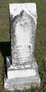 CLARK, WILLIE - Cooke County, Texas   WILLIE CLARK - Texas Gravestone Photos