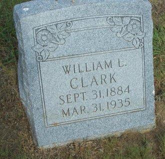CLARK, WILLIAM L. - Cooke County, Texas   WILLIAM L. CLARK - Texas Gravestone Photos