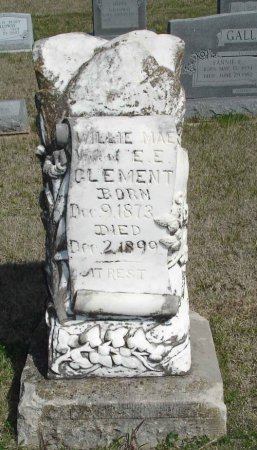 CLEMENT, WILLIE MAE - Cooke County, Texas | WILLIE MAE CLEMENT - Texas Gravestone Photos