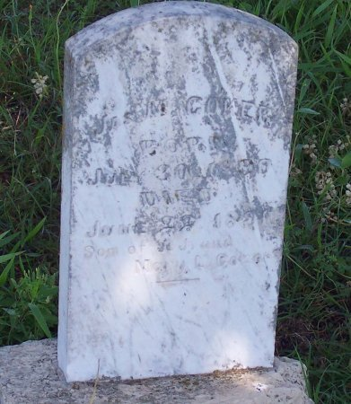 COKER, JAMES M. - Cooke County, Texas | JAMES M. COKER - Texas Gravestone Photos