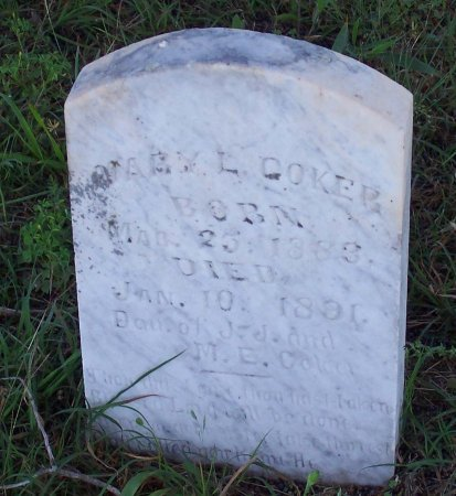 COKER, MARY L. - Cooke County, Texas   MARY L. COKER - Texas Gravestone Photos