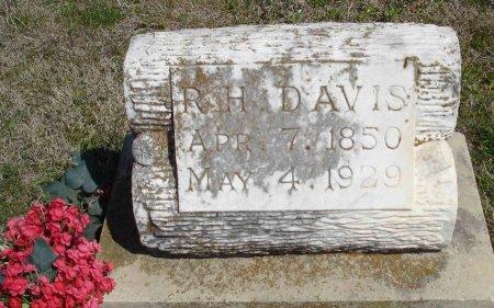 DAVIS, R.H. - Cooke County, Texas   R.H. DAVIS - Texas Gravestone Photos