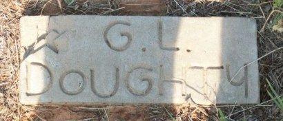 DOUGHTY, G. L. - Cooke County, Texas | G. L. DOUGHTY - Texas Gravestone Photos