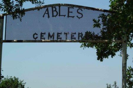*ENTRANCE, ABEL SHILOH - Cooke County, Texas | ABEL SHILOH *ENTRANCE - Texas Gravestone Photos