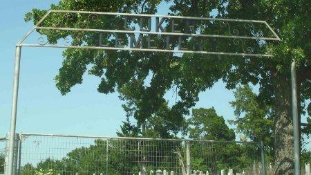 *ENTRANCE, COKER CEMETERY - Cooke County, Texas | COKER CEMETERY *ENTRANCE - Texas Gravestone Photos