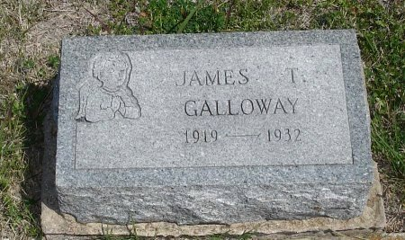GALLOWAY, JR., JAMES T. - Cooke County, Texas | JAMES T. GALLOWAY, JR. - Texas Gravestone Photos