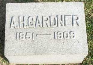 GARDNER, ALMUS HOWARD - Cooke County, Texas | ALMUS HOWARD GARDNER - Texas Gravestone Photos