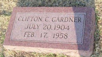 GARDNER, CLIFTON CLINTON - Cooke County, Texas | CLIFTON CLINTON GARDNER - Texas Gravestone Photos