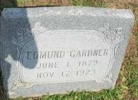 GARDNER, EDMUND - Cooke County, Texas | EDMUND GARDNER - Texas Gravestone Photos